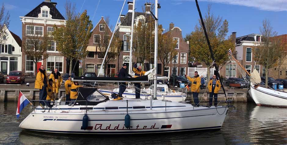 zeilbootverhuur aanbieding friesland weekend midweek